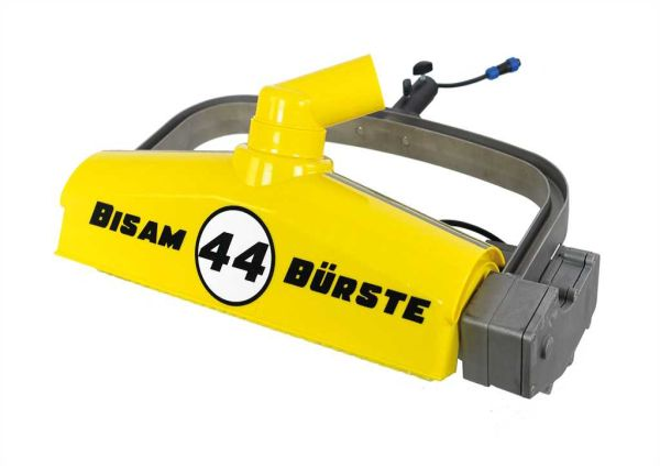 BISAM 44 brush, only scrubber head, yellow bristle