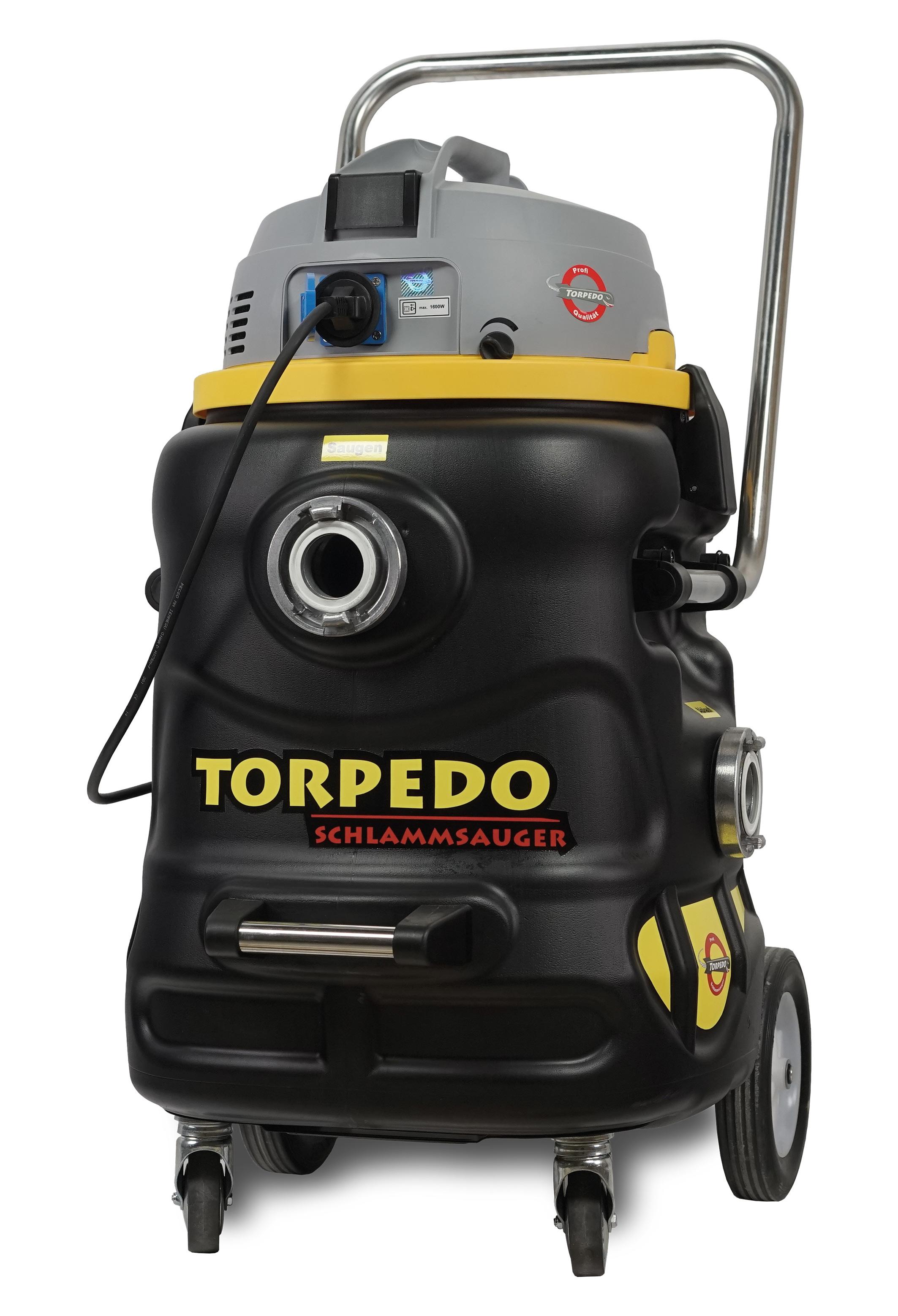 Gartenteich Reinigen Mit Der Schlammpumpe Torpedo Rossle