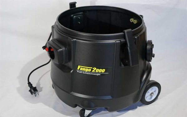 Fango 2000 Tank incl. chassis and closure clips