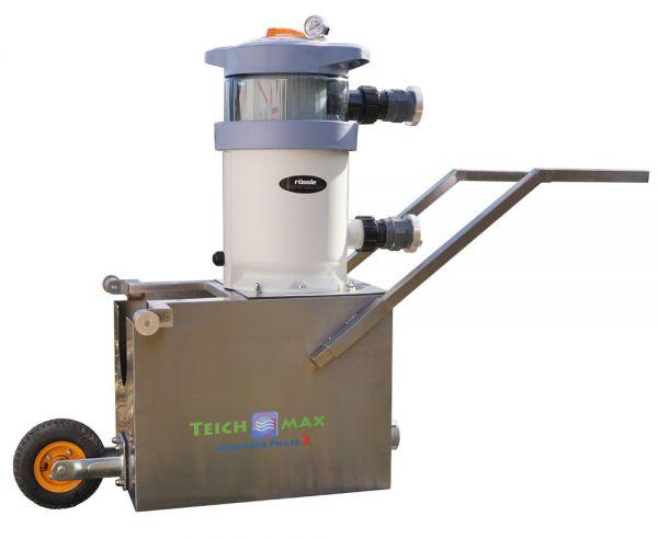 TeichMax Phase2 pro, mit Nanokartuschenfilter, rückspülbar